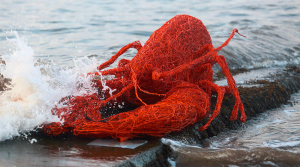 Boiled Lobster - Emma Stothard Sculpture