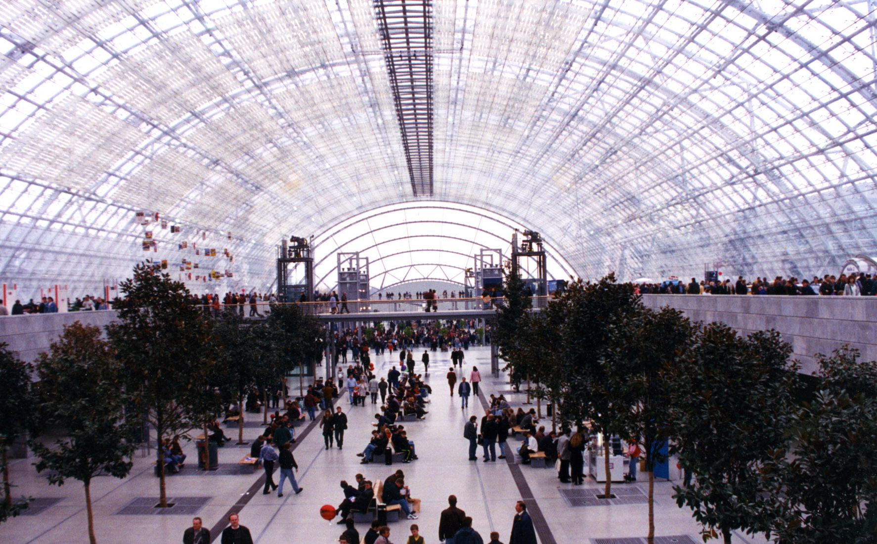 Ian Ritchie Architects Leipzig Exhibition Centre