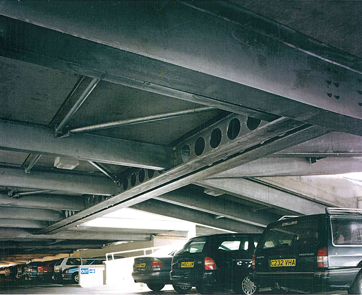 Beechwood Shopping Centre Car Park in Cheltenham