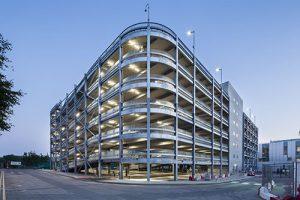 Sky HQ Car Park. Image © Philip Durrant