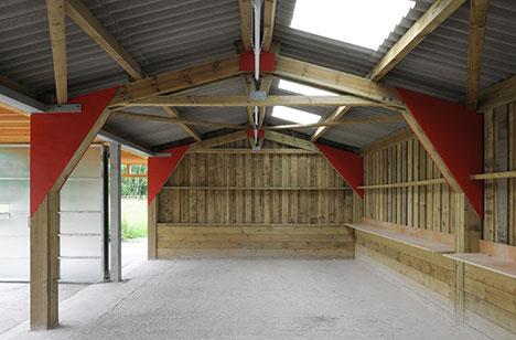 Hugh_Strange-Avon-Wildlife-Trust-Cabion--Bristol-door-landscape-inside