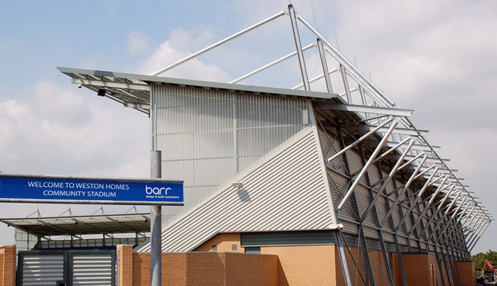 Colchester Community Stadium - Barr Technical Services