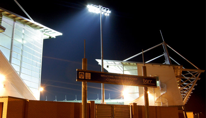 Colchester Community Stadium - Barr Technical Services