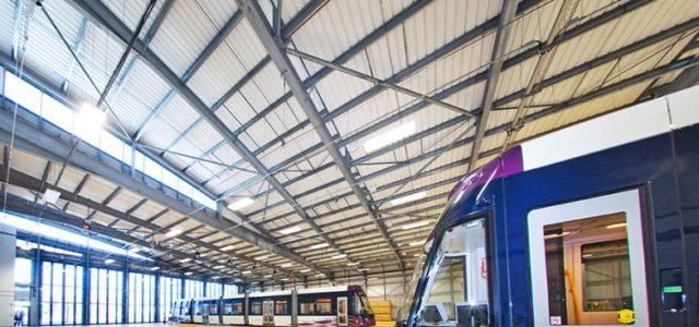 Blackpool Tramway Starr Gate Depot