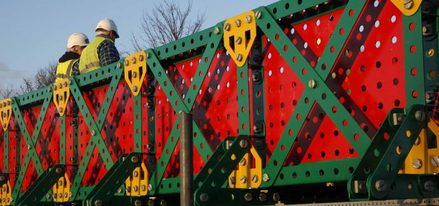 The Meccano Bridge