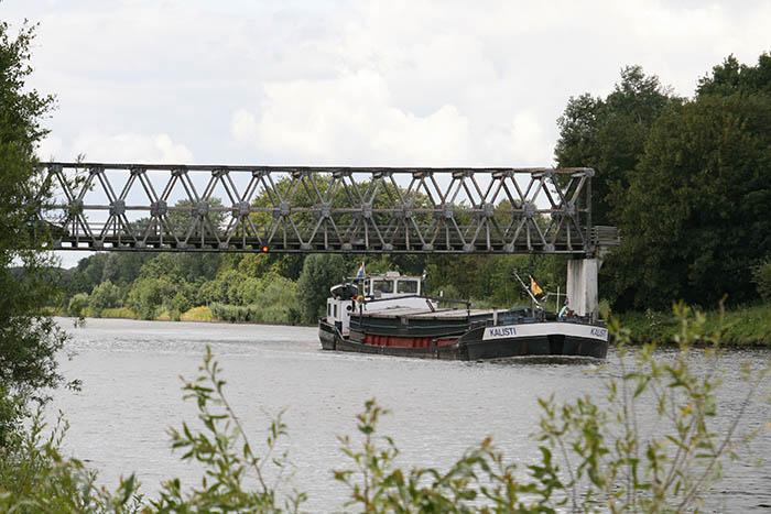 Ehzer Bridge in Almen, Netherlands