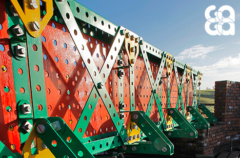 Winner 2014 – Liam Curtin, The Meccano Bridge