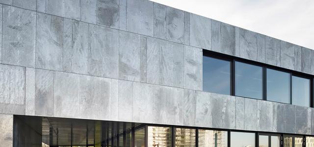 The origins of hot dip galvanized facades