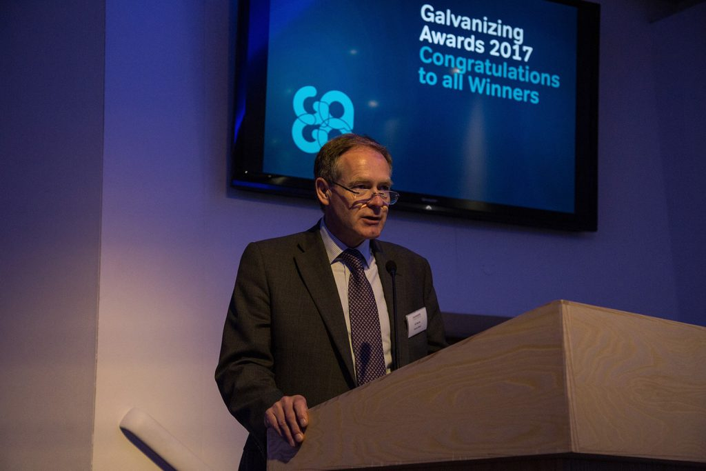 Ed Byrne – Galvanizers Association Chairman