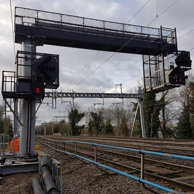 Crossrail West Gantries