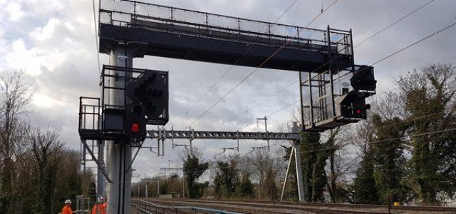 Global Rail Construction Crossrail West Gantries, London