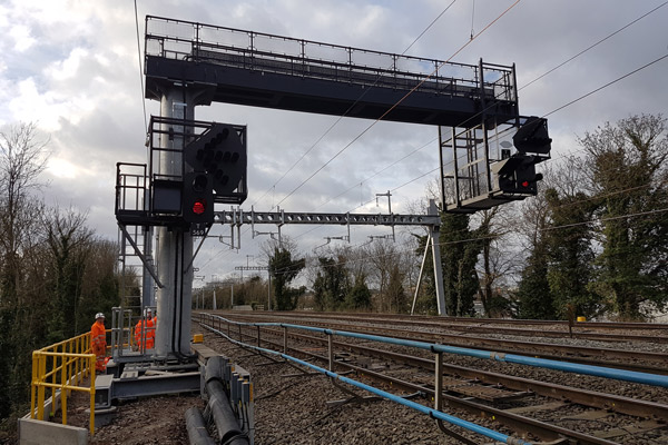 Crossrail West Gantries, London - Global Rail