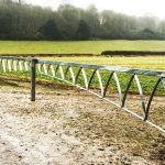 Rotherfield Vehicle Gate - Ian Ritchie Architects