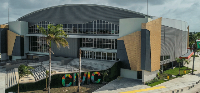 Belize Civic Centre -  John Reid & Sons (Reidsteel) Ltd