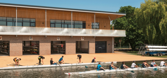 Combined Colleges Boathouse - RHP
