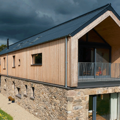 County Down Barn -  Micah T Jones Architect