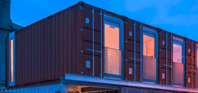 Ringsend Container House -  LiD Architecture