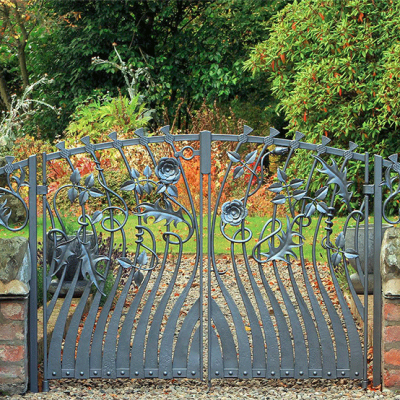 Rose and Thistle Gate - P Johnson & Company