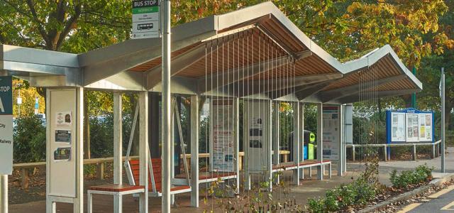 Bus Shelter, East Anglia
