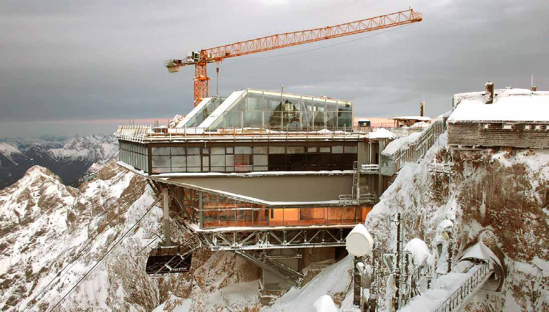 zugspitzbahn ski lift