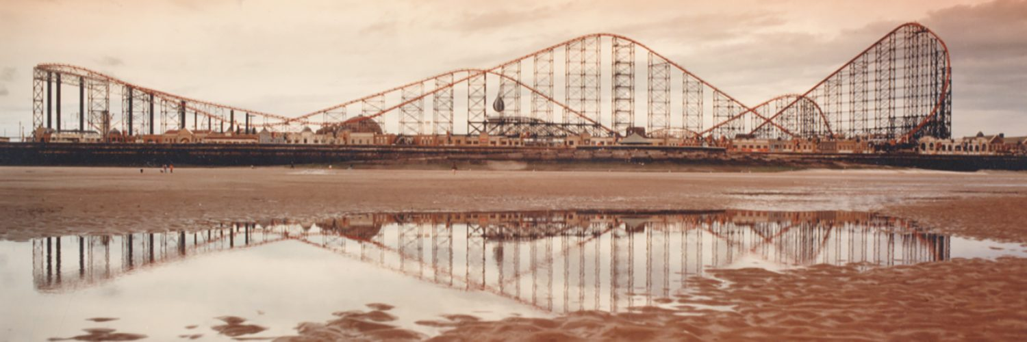 Pepsi Max Roller Coaster in Blackpool