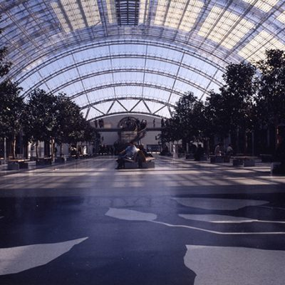Central Glass Hall, Leipzig Exhibition Centre