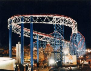 Pepsi Max Roller Coaster, Blackpool - Allott and Lomax