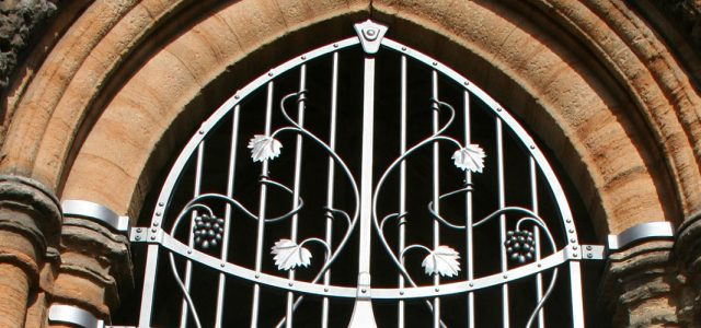 South Porch Gates, St Michael's Church, Linlithgow - P. Johnson & Company