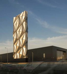 Greenwich Low Carbon Energy Centre, C. F. Møller Architects