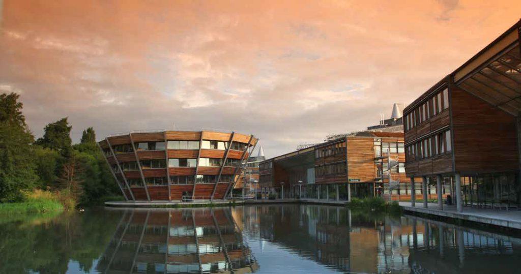 Jubilee Campus, Nottingham University, Hopkins Architects
