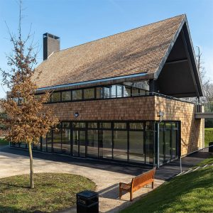 Crystal Palace Park Café Chris Dyson Architects