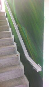 Galvanised Handrail