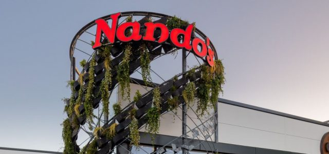 Green Tower at Nando's in Basingstoke