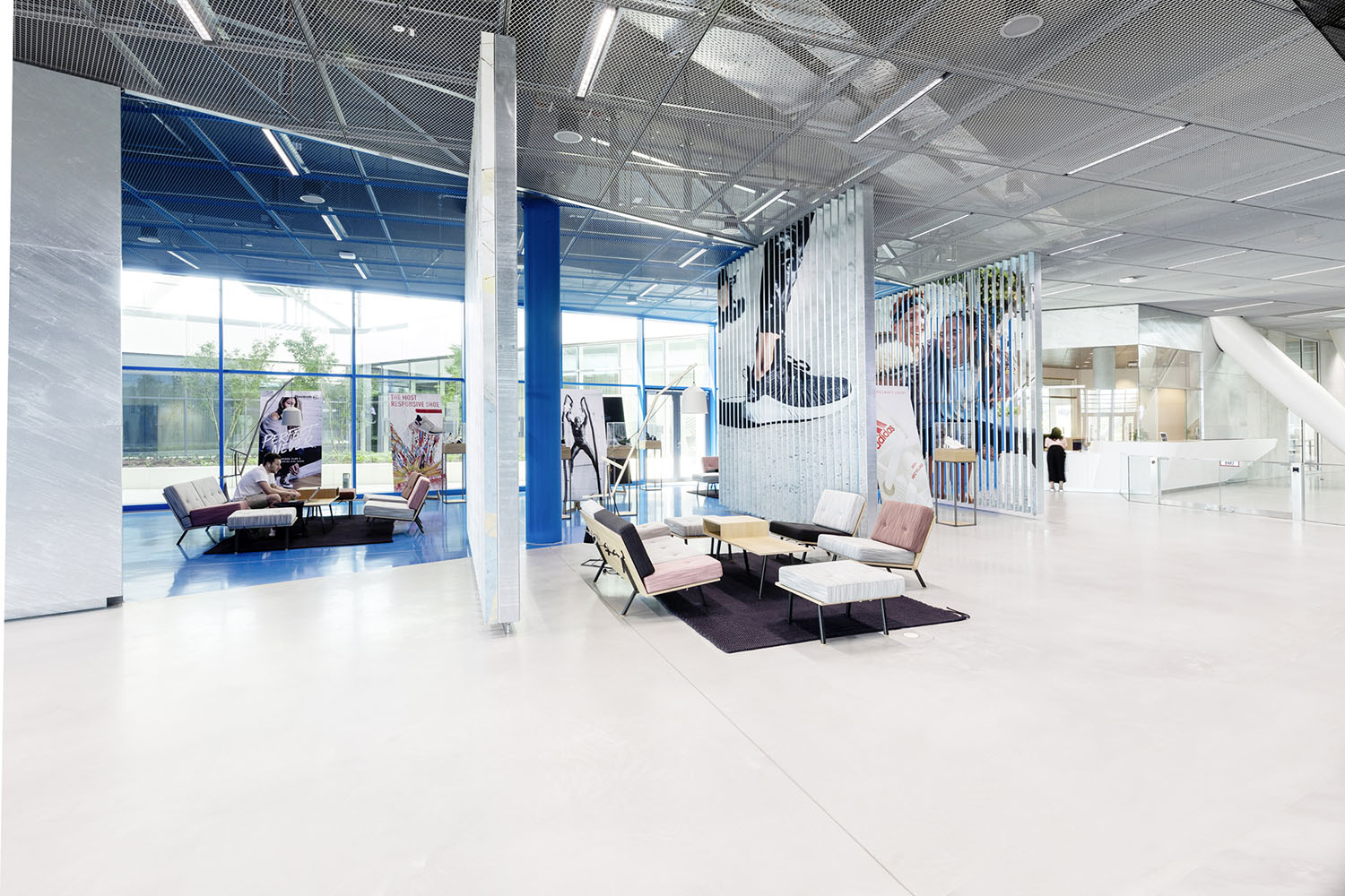 Galvanized Wall Cladding for Adidas World of Sports