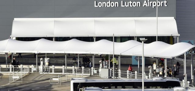 Entrance Canopies, London Luton Airport