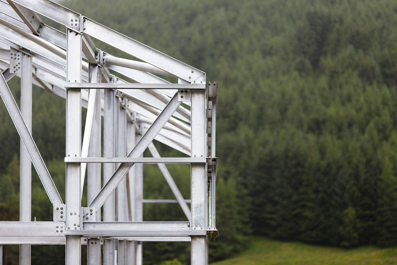 Monachyle Beag Loch Lomond steel frame